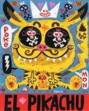 Magic Japanese Cockfighting Art Print