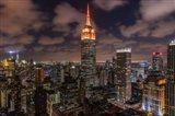Orange 9-11 Art Print