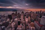 San Francisco Look Down Art Print