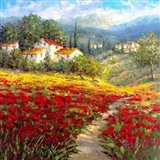 Fleur du Pays I Art Print