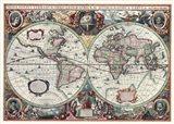 Nova Totius Terrarum Orbis Tabula Art Print