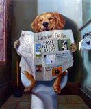 Dog Gone Funny Art Print