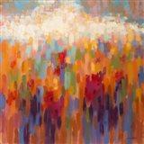 Poppy Mosaic Art Print