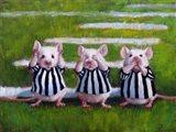 Three Blind Mice Art Print