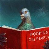 Pooping on People Art Print