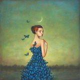 Metamorphosis in Blue Art Print
