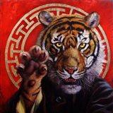 Legend of Tiger Claw Art Print