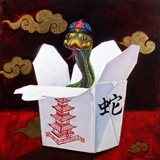Takeout with a Twist Art Print