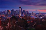 Sunset Seattle Art Print