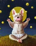 Puppy Dreams Art Print