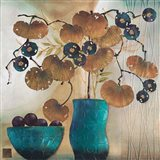 Raku Bowl and Vase Art Print