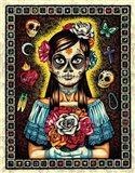 Muerta Art Print