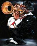 Jazzman Papa Joe Art Print