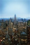 New York View by Night Art Print