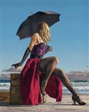 On Crescent Beach Art Print