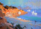 Evening Boats Art Print