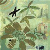 Floral Fantasies 2 Art Print