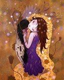After the Kiss Art Print