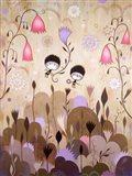 Garden of Sleeping Flowers I Art Print