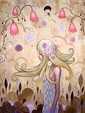 Garden of Sleeping Flowers II Art Print
