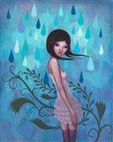 Morning Showers Art Print