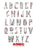 Alphabite Art Print