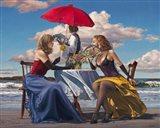 Cafe Oceanus Art Print
