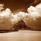 Mont San Michel Art Print