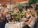 Luncheon of the Projectile Vomit Party Art Print