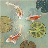 Floating Motion II Art Print