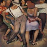 Latino Jazz Art Print