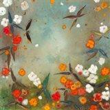 Gardens in the Mist VII Art Print