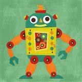 Robot 1 Art Print