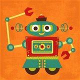 Robot 2 Art Print