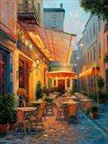 Cafe Van Gogh 2008, Arles France Art Print