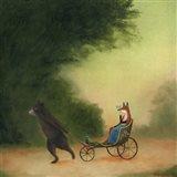 La Passeggiata of the Lady Dowager Art Print