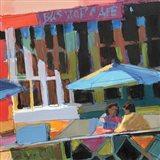 Bus Stop Cafe Art Print