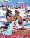 Beach Gossip Art Print