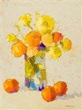Yellows and Oranges Art Print