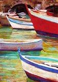 Colors of Camogli Art Print