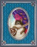 Ravi The Squirrel Art Print