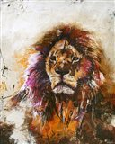 Tiger Vision Art Print