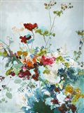 Abstract Floral 1 Art Print