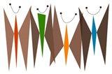 Butterflies - Browns Art Print