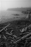 Breakwater Fog (Victoria) Art Print