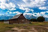 Grand Teton Barn I Art Print