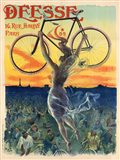 Deesse Cycles Art Print