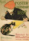R.H. Russell & Son Calendar, 1897 Art Print