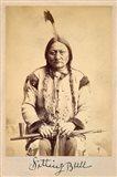 Sitting Bull - Lakota Sioux Tribe Chief, 1884 Art Print