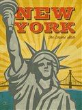 New York - The Empire State Art Print